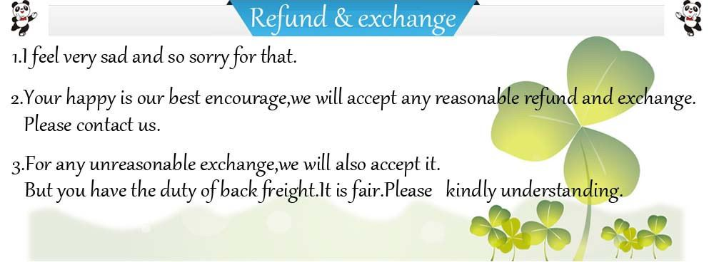 refund and exchange
